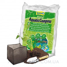 Питательный субстрат Tetra Pond Aquatic Compost 8 литров - правильное питание корней