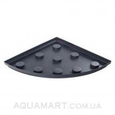 Поддон для аквариума Природа 70х70 угол 184 л, черный