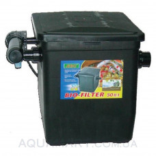 Прудовый фильтр с УВ-стерилизатором Jebo BIO 50 II