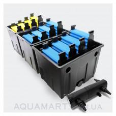 Прудовый фильтр УВ стерилизатором SunSun CBF 350С-UV