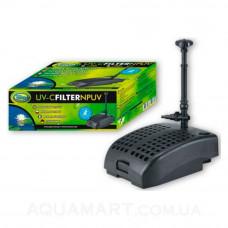 Фильтр для пруда AquaNova NPUV-2000 с UV лампой и фонтанными насадками