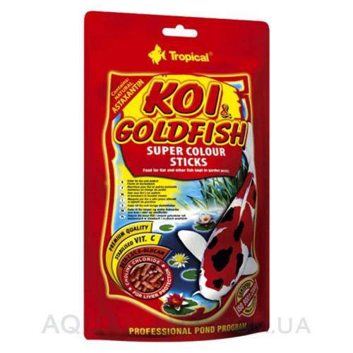 Tropical KOI & GOLDFISH COLOUR STICKS - 10л 800 гр