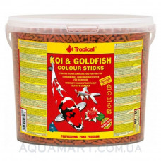 Tropical KOI & GOLDFISH COLOUR STICKS - 21 литр