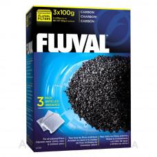 Активированный уголь Fluval Carbon, 3 x 100 гр