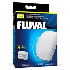 Вкладыш тонкой очистки 3 шт, для фильтров Fluval 105/106, 205/206