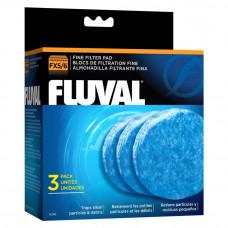 Вкладыш тонкой очистки 3 шт, для фильтров Fluval FX5, Fluval FX6
