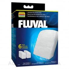 Вкладыш тонкой очистки 6 шт, для фильтров Fluval 305/306, 405/406