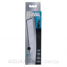 Вкладыш фильтрующая угольная губка для фильтра Fluval U4 2 шт