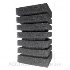 Губка Resun для головки прямоугольная 10х10х15 см среднепористая 35 ppi