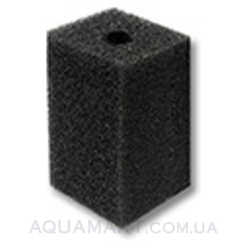 Губка для головки прямоугольная 14х10х10 см крупнопористая, Китай