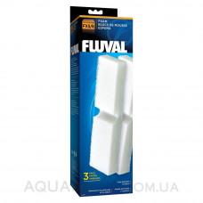 Губки механической очистки 3 шт для внешних фильтров Fluval FX5, Fluval FX6