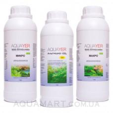 Комплект AQUAYER МАКРО+МИКРО+Альгицид+СО2 1л