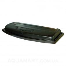 Крышка для аквариума Природа ЛЮКС 40х25 ОВ (черная)