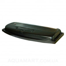 Крышка для аквариума Природа ЛЮКС 80х35 ОВ (черная)
