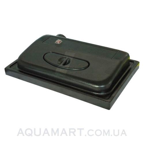 Крышка для аквариума Природа ЛЮКС 80х35 ПР (черная)