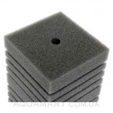 Мочалка поролоновая мелкопористая для головок и помп прямоугольная Aquael 15х10х10 см