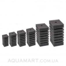 Мочалка поролоновая мелкопористая для головок и помп прямоугольная Aquael 20х12х12 см