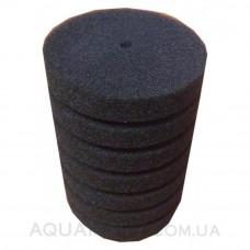 Мочалка поролоновая мелкопористая для головок и помп цилиндрическая Aquael d10х20 см