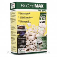 Наполнитель для внешних фильтров Aquael BioCeraMAX Pro 600, 1 л