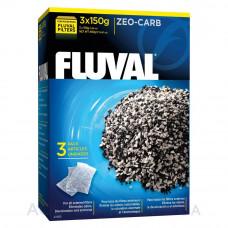 Наполнитель для внешних фильтров Fluval Zeo-Carb, 450 гр