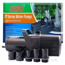 Насос для пруда Jebo SP-606 + ПОДАРОК - набор фонтанных насадок Jebo FH10+11